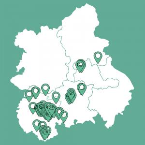 Client Map - West Midlands