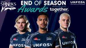 Sale Sharks' End of Season Awards Dinner