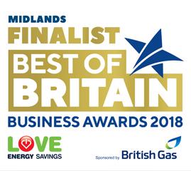 Best of Britain Awards Finalist Logo